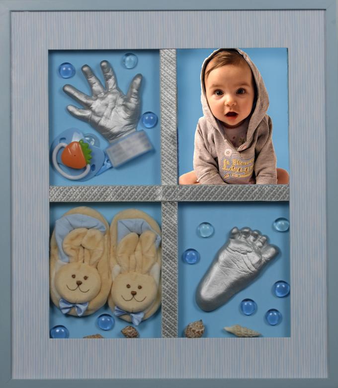 Слепок своими руками малыша 381